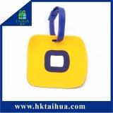 Силиконовый чехол из ПВХ тег багажного отделения с сертификации SGS (TH-xlp012)