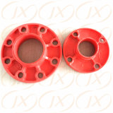 Personalizar el hierro dúctil tubo ranurado adaptadores de brida