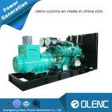Eerste Diesel van het Type 1250kVA van Generator van de Macht Synchrone 400V 50Hz Open Elektrische Generator