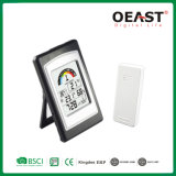 Termómetro digital com alarme remoto de Clock & Índice Térmico Ot3075TF3