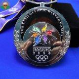 Venda por grosso de desporto de metal executando Medalha competitiva para decorações pessoais