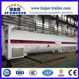 40pieds 40.44CBM T75 LNG/Lo2/LCO2/Lin/LOX/lar/l'ammoniac liquide/l'argon liquide cryogénique, réservoir de stockage de conteneurs ISO