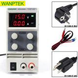 Источник питания постоянного тока коммутации Wanptek регулируемой переменной индикатор цифровой 15V 10A