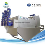 Тяжести пресс для фильтра ремня обезвоживание сточных вод завода используется для очистки сточных вод