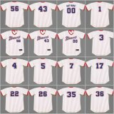 Atlanta Dale Murphy Phil Niekro Retour Baseball Jersey personnalisé