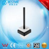 Brosse wc Titulaire de couleur noire en acier inoxydable (BG-C65005K)