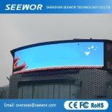 Excelente sellado Gabinete P16mm Display LED de exterior
