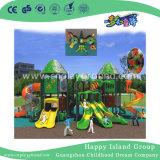 Casa de árbol del parque infantil de diversiones con guía de accionamiento (HK-50032)