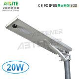 20W для использования вне помещений солнечной энергосберегающая продукция на улице светодиодный светильник с датчиком движения