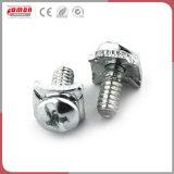 Tuerca de acero de aluminio de metal personalizados de compresión de los racores de latón de instrumentos