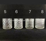 Runde Form-Glaskerze-Halter anpassen