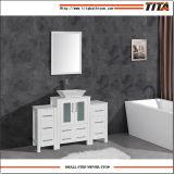 Dissipador de cerâmica de montagem acima moderno mobiliário de banho T9158