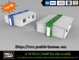 La taille de deux chambres Wellcamp extensible pour le site Office de la chambre de conteneur