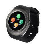 L8心拍数のスマートな腕時計の血圧のBluetooth GSMの電話