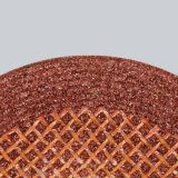 Herramientas de carburo muere Roll amoladora angular de energía tipos de documentos adjuntos comentarios la depresión de diamantes de los centros de soporte de disco de fibra de metal Las ruedas de palas almohadilla abrasiva