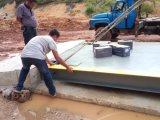 100 toneladas de peso da balança eletrônica da escala de caminhões para venda
