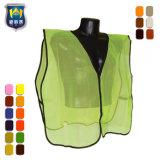 Vest van de Veiligheid van het Zicht van de taille het Regelbare Hoge Weerspiegelende