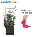 3.75'' Dual-Use Automatische hosiery machine voor het maken van goede kwaliteit Terry En gewone sokken