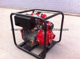 4-дюймовый поток 100м3/ч поднимите 20m орошения дизельного двигателя водяного насоса