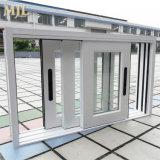 Il prodotto 2018 della Cina il più in ritardo progetta la finestra di scivolamento di alluminio di prezzi poco costosi