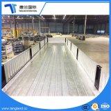 3 Wellen 40 Tonnen seitliche Wand-Bulkladung-Flachbettschlußteil-