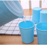 زرقاء لون [هيغقوليتي] جيّدة يبيع أحد إبريق أربعة فنجان بلاستيكيّة إبريق مجموعة