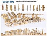 Precisión de alta velocidad pequeña máquina de torno CNC tipo suizo precio