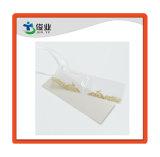 La mantequilla el papel de plata de hierro Hangtag de prendas de vestir