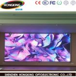 P3.91 RVB Full HD LED couleur intérieure Affichage de publicité avec l'installation fixe pour la publicité