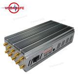 Emittenti di disturbo senza fili del segnale della macchina fotografica di vendita calda: Radio a frequenza ultraelevata /CDMA450MHz di CDMA/GSM/3G UMTS/4glte Cellphone/GPS/Lojack/VHF/