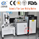 Láser de fibra automática máquina soldadora de tubo de metal
