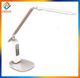 Lámpara de vector moderna de la cabecera LED del sensor del tacto de Dimmable con el calendario del LCD