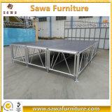 쉬운 최신 판매 이동할 수 있는 알루미늄 단계 판매를 위한 옥외 연주회 단계를 설치하십시오