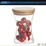 Hohes Borosilicat-Glasflaschen-Spitzenspeicher-Glas