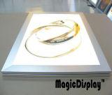 4つの側面開いたLEDの超薄いライトボックス