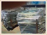 De zink Geplateerde ZijSteunen van de Steiger
