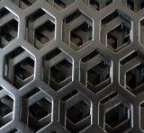 Lamina di metallo perforata, maglia del foro di perforazione