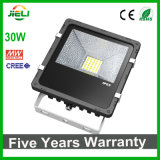 Qualidade superior 5 da garantia CREE+Meanwell 30W do projeto anos de projector do diodo emissor de luz