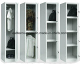 2 باب معدنة غرفة نوم أثاث لازم فولاذ خزانة ثوب