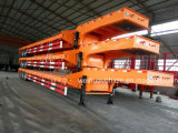 최신 Selling 3 Axle 60t Lowbed Equipment Semi Trailer From 중국 Manufacturer