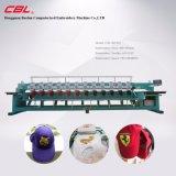 9 naald 12 HoofdGLB en de Tubulaire Machine van het Borduurwerk van de Hoge snelheid van China