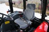 Alimentador chino de la granja 55HP 4WD con la cabina para la venta