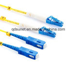 Fibre optique duplex Patchcord de SM de LC/Upc-Sc/Upc