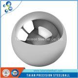 Giocattoli della decorazione, sfera dell'acciaio al cromo di uso delle parti superiore