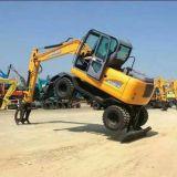 Zappatore idraulico dell'escavatore della rotella del macchinario di costruzione 5t 6t 8t 10t 12t 15t da vendere la marca del rinoceronte