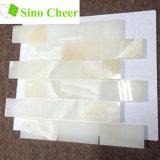 Плитки мозаики Onyx подземки строительного материала Decorarive белые