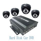 CCTV H. 264 мобильных HDD Car DVR с 4 камеры (Ht-6504)