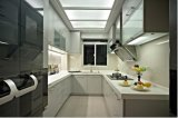 高品質によってカスタマイズされる高い光沢のある木製の食器棚Yb1707012