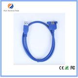Enchapado en oro 3.0 USB macho a hembra Cable 5m Hecho en China