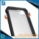 iPhone 8のための堅いプラスチック透明な携帯電話の箱